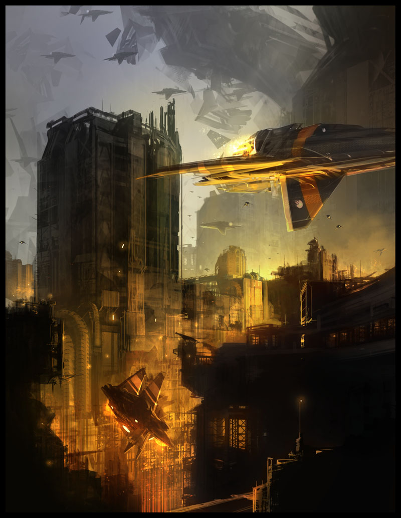 cityscapes and flying entities... (updated p2)